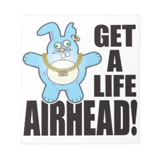 Airhead Bad Bun Life Notepad