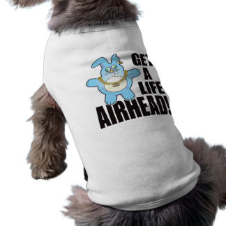 Airhead Bad Bun Life Sleeveless Dog Shirt