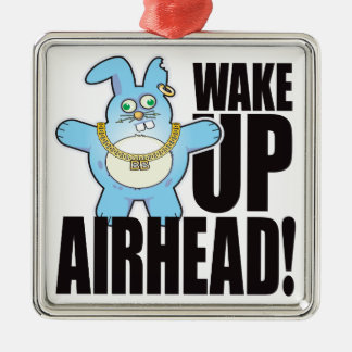 Airhead Bad Bun Wake Christmas Ornament