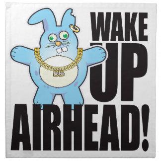 Airhead Bad Bun Wake Napkin