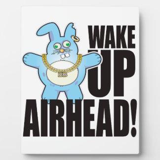 Airhead Bad Bun Wake Plaque