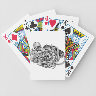 Airhead Cutaway Bicycle Playing Cards