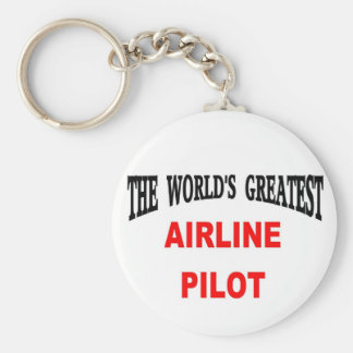 Airline pilot key ring