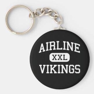 Airline - Vikings - High - Bossier City Louisiana Key Ring