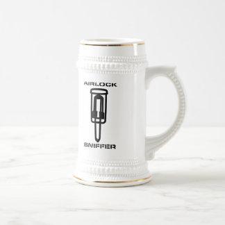 Airlock Sniffer Beer Stein