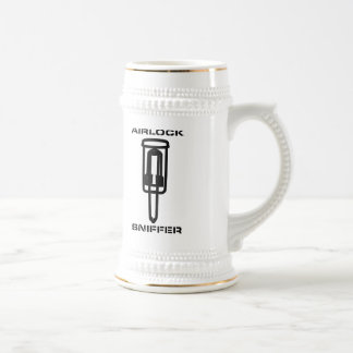 Airlock Sniffer Coffee Mugs