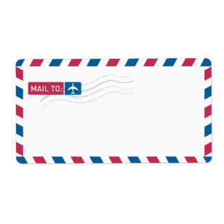 Airmail Address Mailing | MAIL TO:
