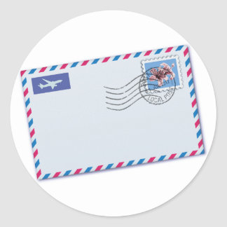 Airmail Envelope Stickers