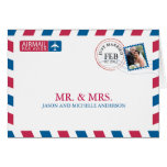 Airmail Wedding Thank You