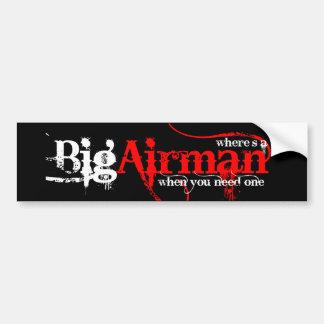 Airman, anyone? car bumper sticker
