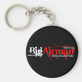 Airman anyone key chain