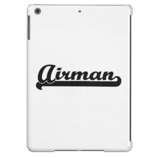 Airman Classic Job Design iPad Air Cases