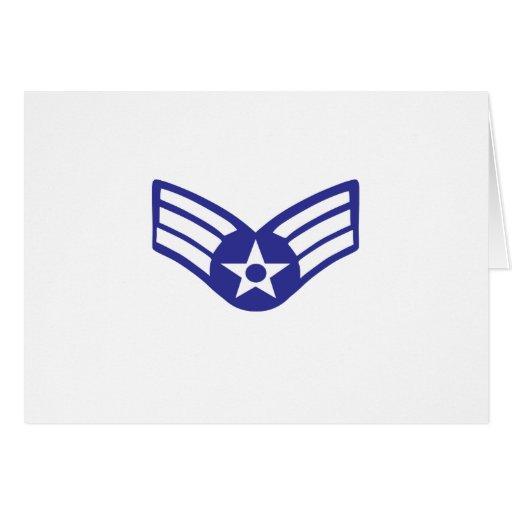 Airman Senior Class USA Airforce Card