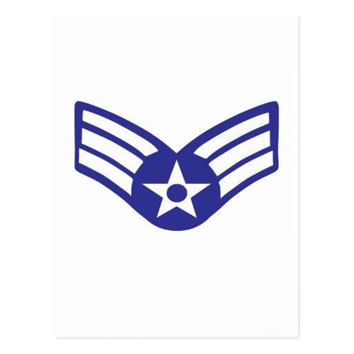 Airman Senior Class USA Airforce Post Card