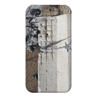 Airman stands post to the entry control point iPhone 4/4S case
