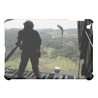 Airman watches a practice bundle fall iPad mini cases