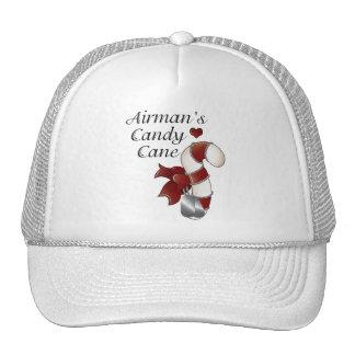 Airmans Candy Cane Trucker Hats