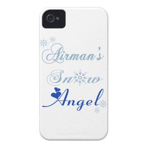 Airman's Snow Angel Blackberry Bold Case
