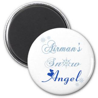 Airman's Snow Angel Magnet