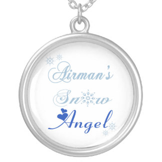 Airman's Snow Angel Necklace