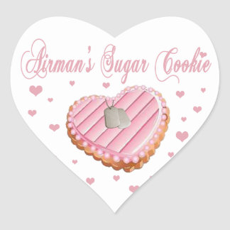 Airman's Sugar Cookie Stickers