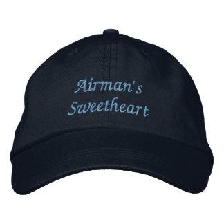 Airman's Sweetheart Embroidered Baseball Cap