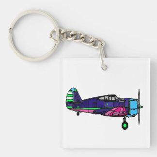 Airplane Acrylic Keychains