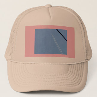 Airplane and Sky Trucker Hat