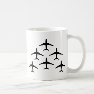 airplane armada coffee mug