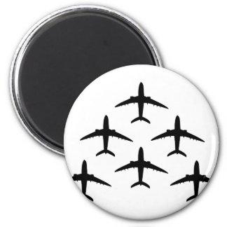airplane armada refrigerator magnet