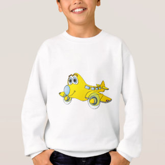 Airplane Cartoon Sweatshirt