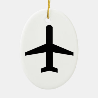 Airplane Christmas Ornament