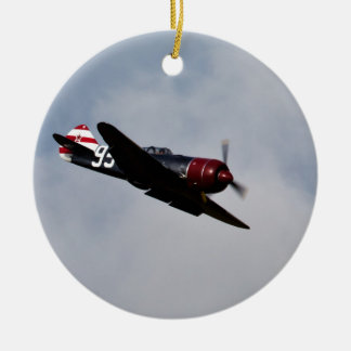 Airplane Christmas Ornament