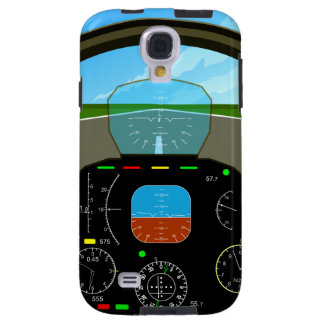 AirPlane Cockpit samsung Galaxy S4 Case