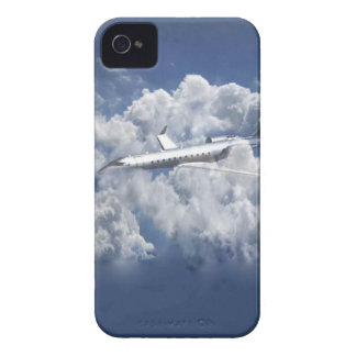 Airplane in the clouds Iphone 4s cover