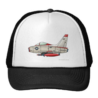 Airplane Jet Fighter Military Aircraft Hats Hats