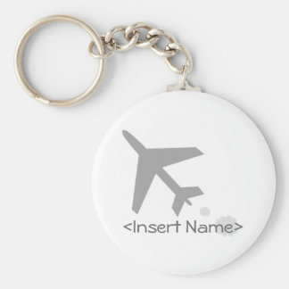 Airplane Key Ring