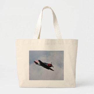 Airplane Large Tote Bag