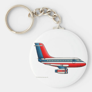 Airplane Passenger Jet Plane Key Chains