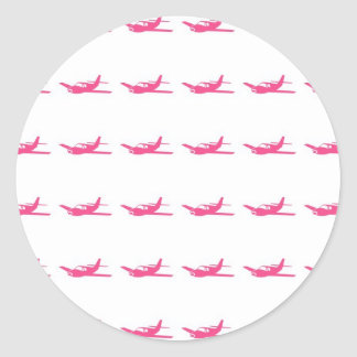 Airplane Pattern Stickers