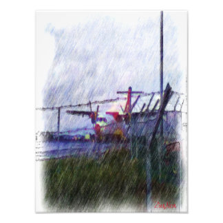 Airplane Photograph