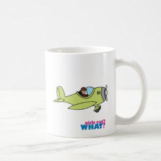 Airplane Pilot - Medium Basic White Mug
