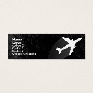 Airplane Pilot or flight attendant business card