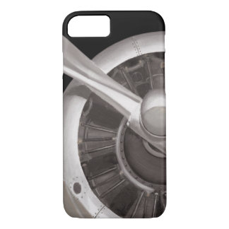 Airplane Propeller Closeup iPhone 8/7 Case