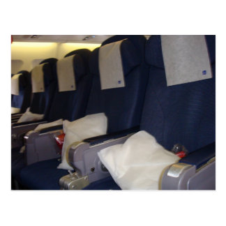 Airplane Seats Postcard