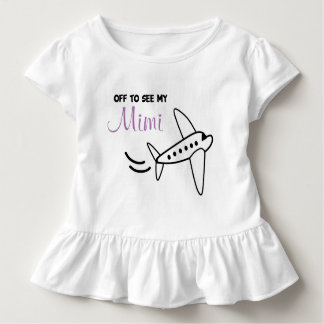 Airplane shirt - time for a trip | off to see Mimi