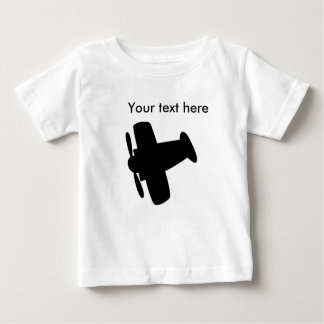 Airplane Simple Design Items Baby T-Shirt
