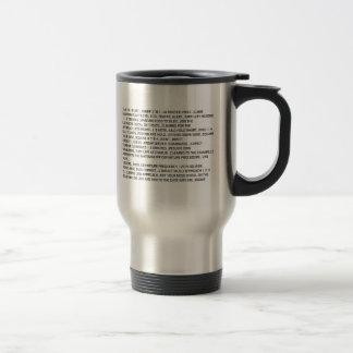Airplane Talk Travel Mug