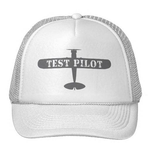 Airplane & Test Pilot Hat