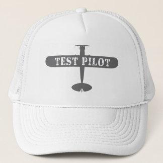 Airplane & Test Pilot Trucker Hat